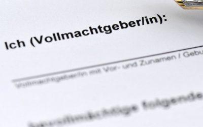Forma niemieckiego pełnomocnictwa do sprzedaży nieruchomości w Polsce